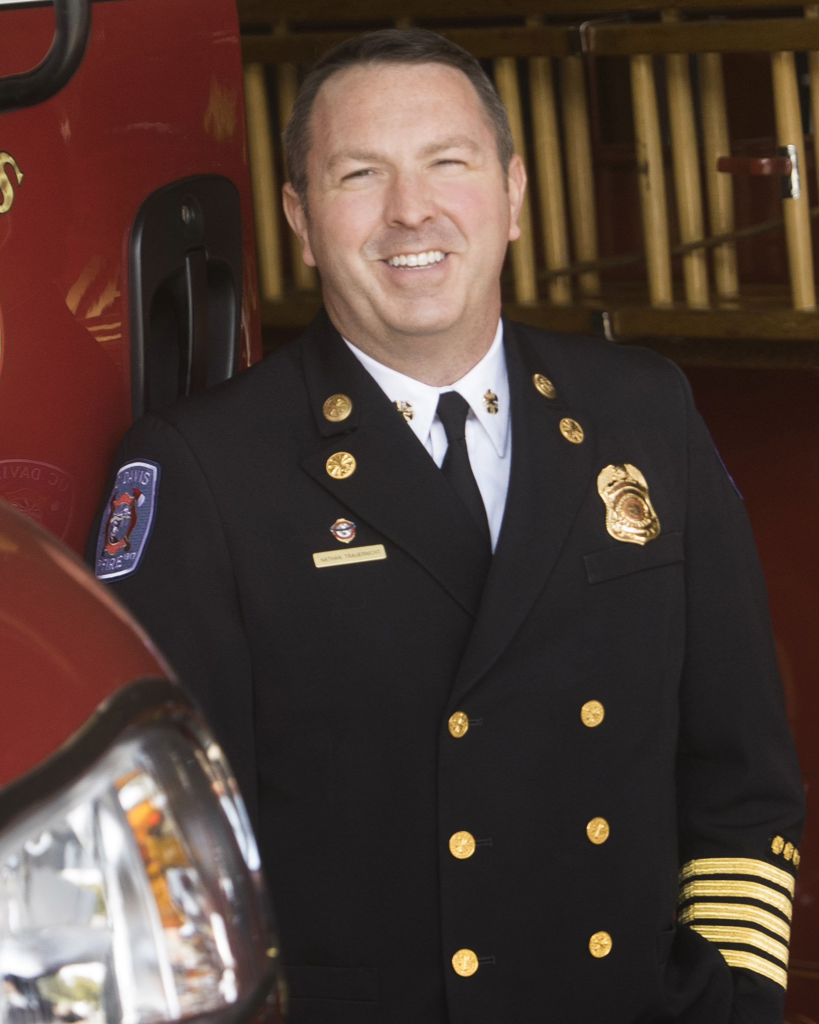 UC Davis Fire Chief Nathan Trauernicht