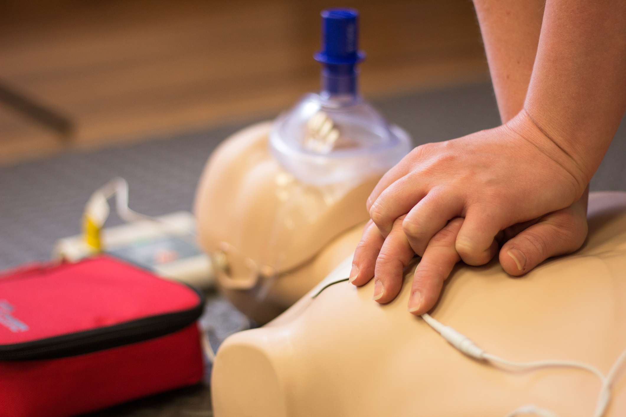 HeartSaver First Aid, CPR/AED & Stop the Bleed Combo