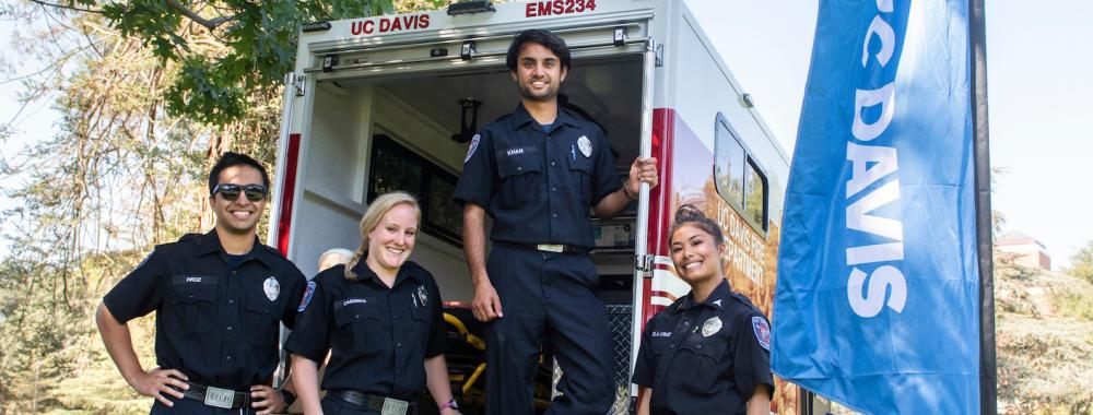 UC Davis Fire Department Student EMTs