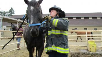 Learning how to operate a variety of tools and accessories used for horses is an important part of being able to effectively assist them in a disaster.