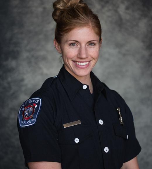 UC Davis Fire Engineer Lindsey Dubs