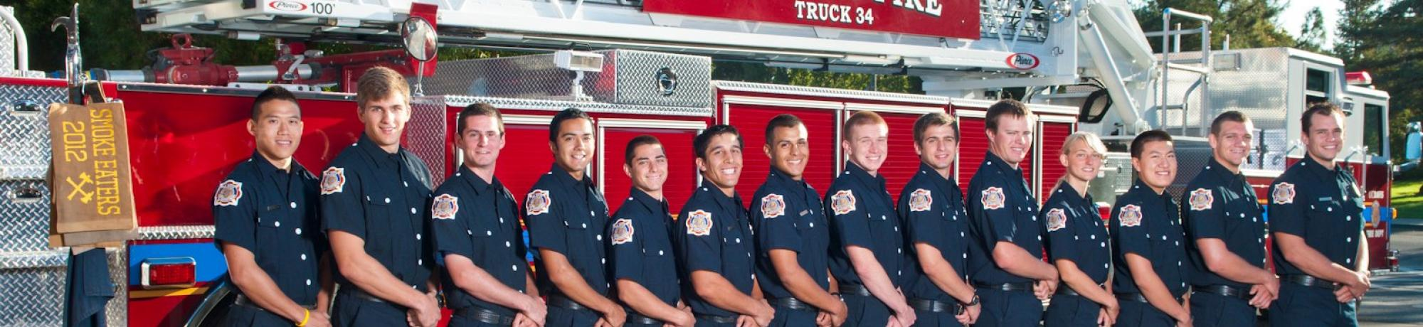 UC Davis Fire Department Student Firefighters